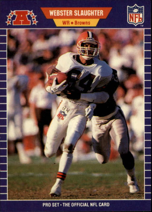 1989 Pro Set #84 Webster Slaughter