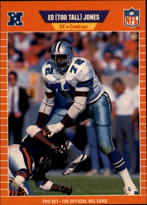 1989 Pro Set #91 Ed Too Tall Jones