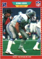 1989 Pro Set #126 Dennis Gibson
