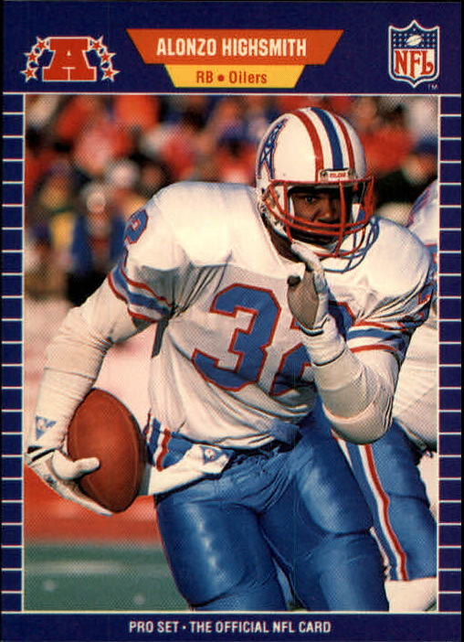 1989 Pro Set #145 Alonzo Highsmith