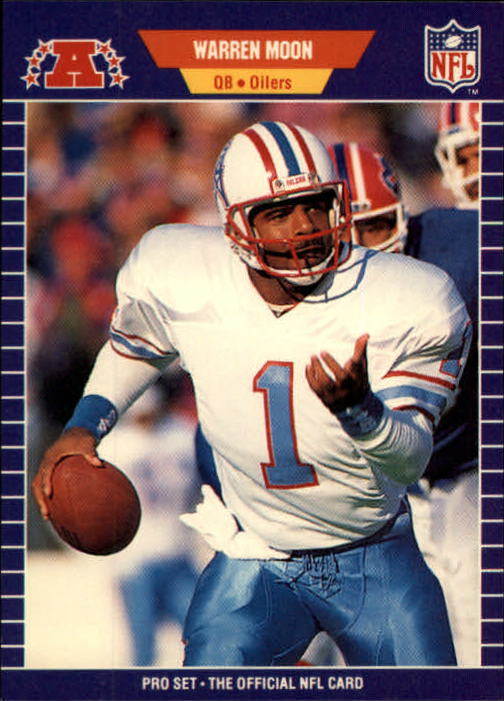 1989 Pro Set #149 Warren Moon