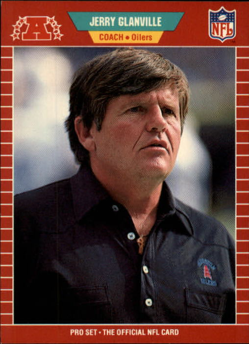 1989 Pro Set #154 Jerry Glanville CO