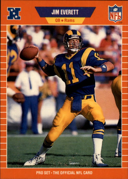 1989 Pro Set #199 Jim Everett