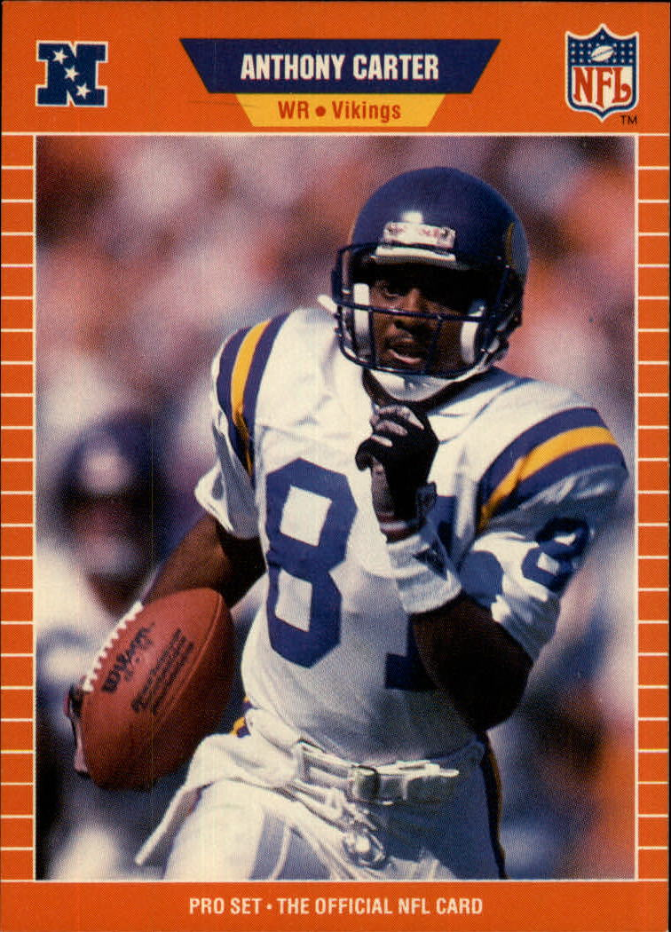 1989 Pro Set #228 Anthony Carter