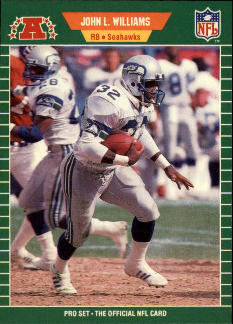 1989 Pro Set #405 John L. Williams