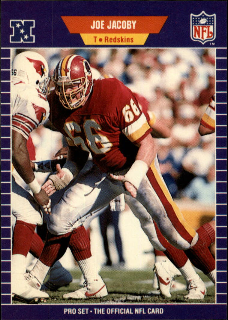 1989 Pro Set #427 Joe Jacoby