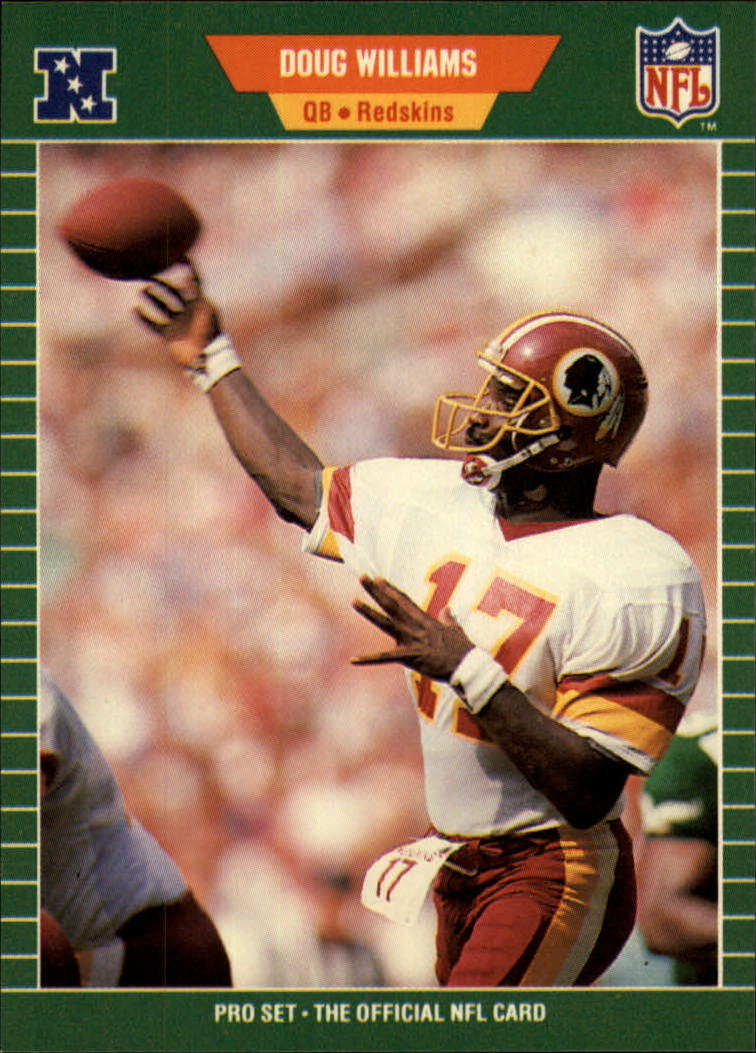 1989 Pro Set #439 Doug Williams front image