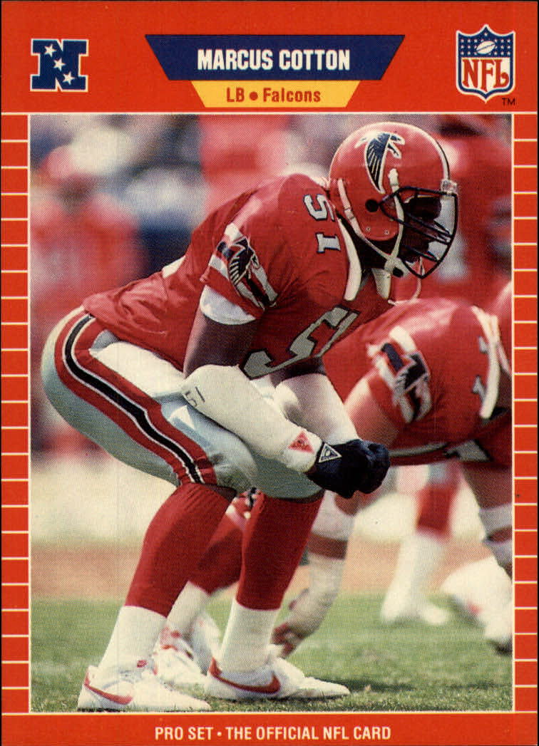 1989 Pro Set #441 Marcus Cotton