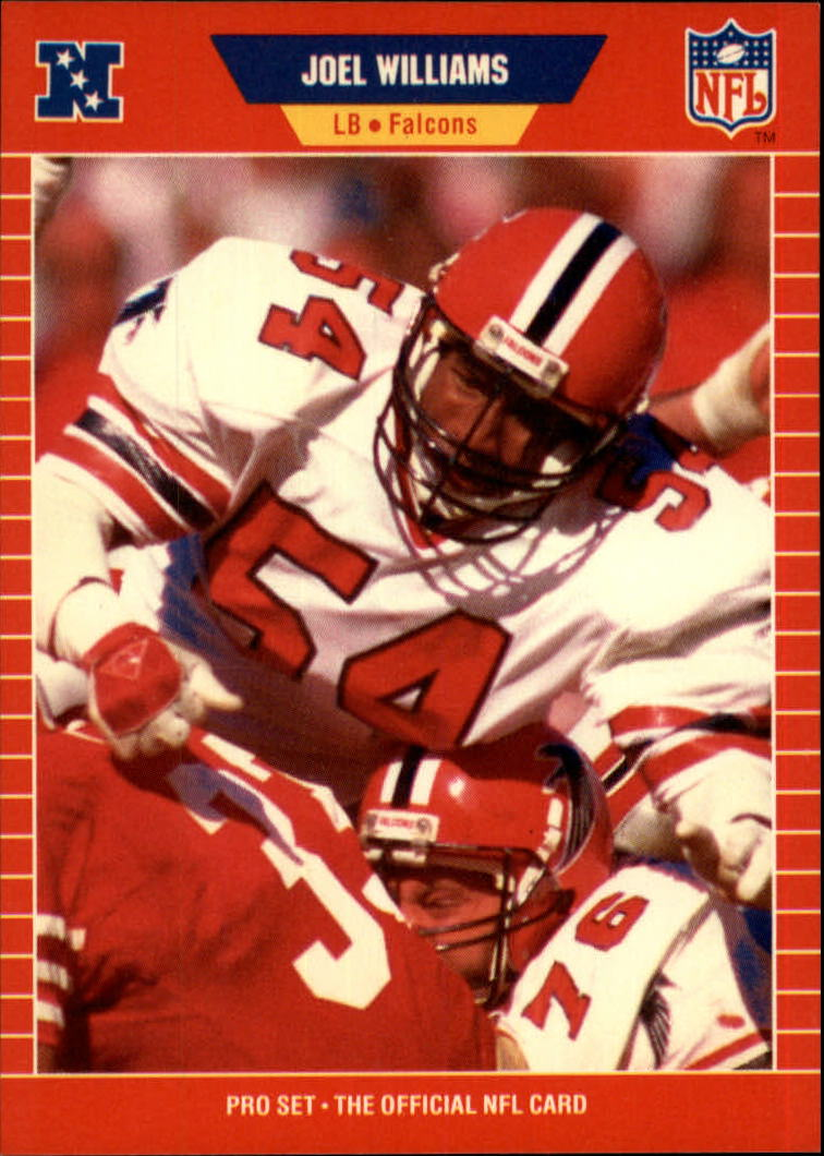 1989 Pro Set #442 Joel Williams