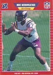 1989 Pro Set #467 Mike Merriweather