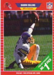 1989 Pro Set #485 Shawn Collins RC