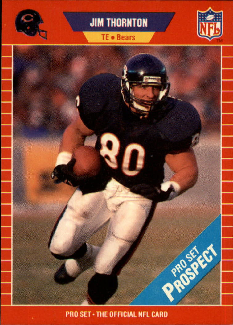 1989 Pro Set #517 James Thornton RC