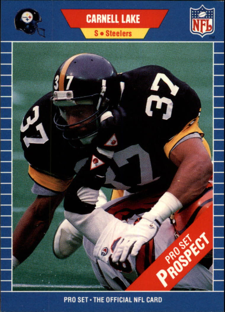 1989 Pro Set #548 Carnell Lake RC