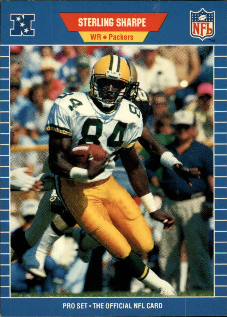 1989 Pro Set #550 Sterling Sharpe RC