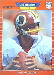 1989 Pro Set Announcers #9 Joe Theismann front image