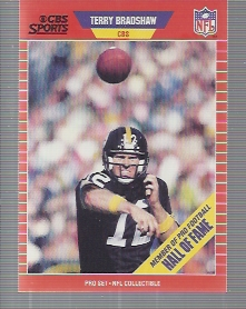 1989 Pro Set Announcers #12 Terry Bradshaw