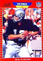 1989 Pro Set Announcers #18 Ken Stabler