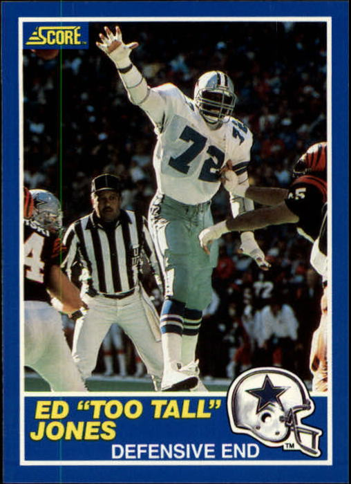 1989 Score #5 Ed Too Tall Jones