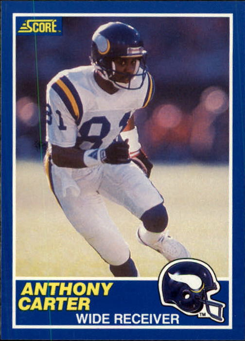 1989 Score #20 Anthony Carter