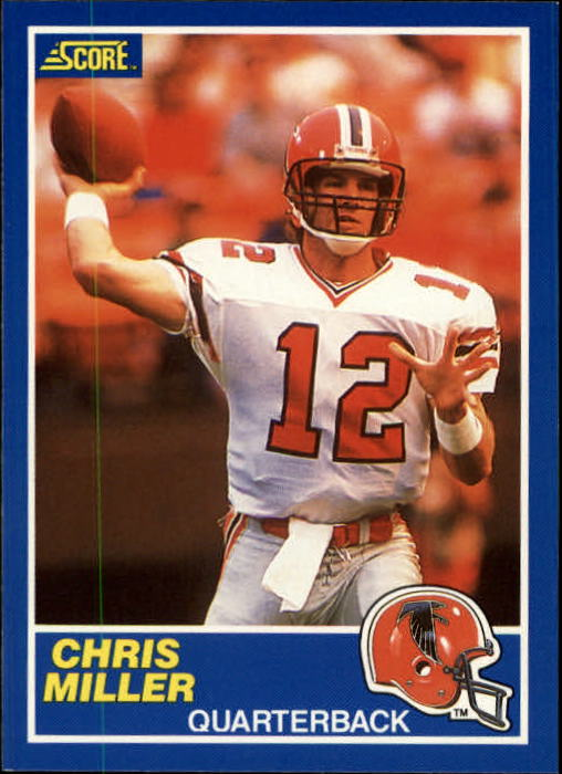 1989 Score #60 Chris Miller RC