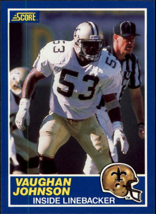 1989 Score #65 Vaughan Johnson RC