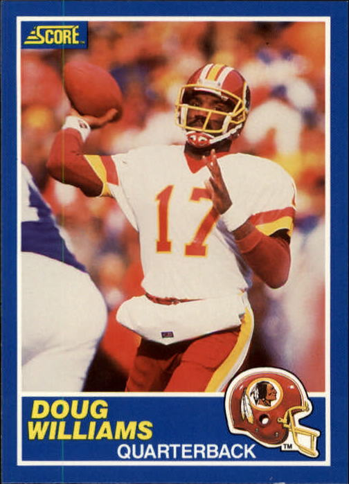 1989 Score #80 Doug Williams