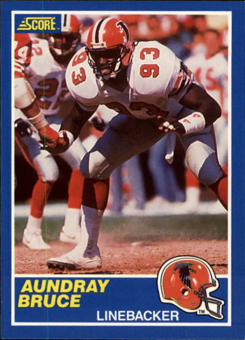 1989 Score #93 Aundray Bruce RC