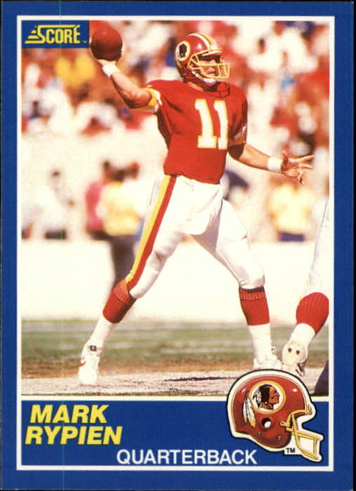 1989 Score #105 Mark Rypien RC