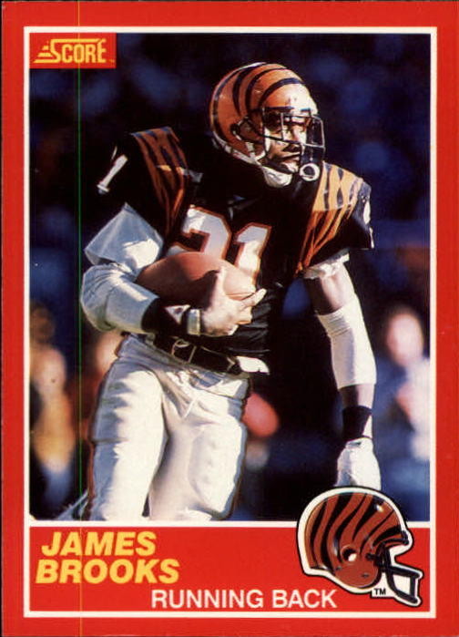 1989 Score #157 James Brooks