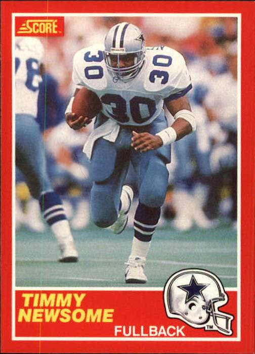 1989 Score #183 Timmy Newsome