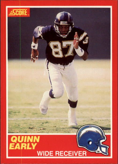 1989 Score #191 Quinn Early RC