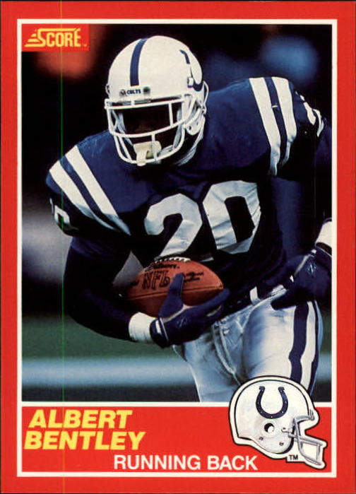 1989 Score #193 Albert Bentley