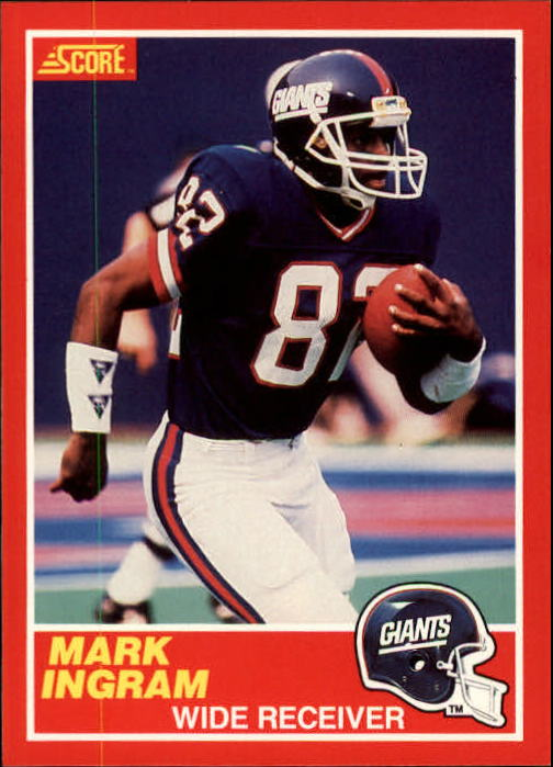 1989 Score #204 Mark Ingram RC