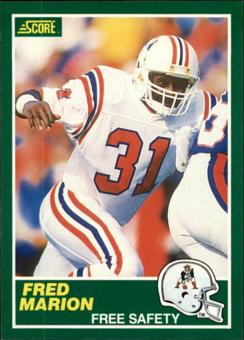 1989 Score #232 Fred Marion