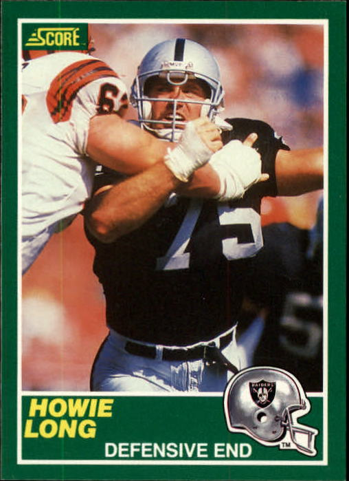 1989 Score #242 Howie Long
