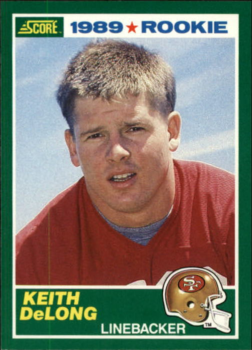 1989 Score #260 Keith DeLong RC