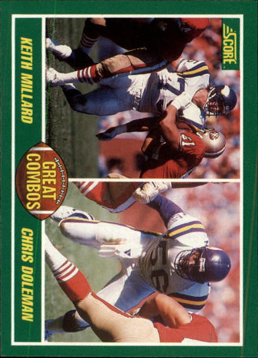 1989 Score #282 Chris Doleman/Keith Millard