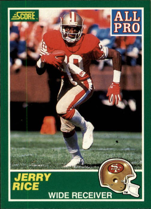 1989 Score #292 Jerry Rice AP