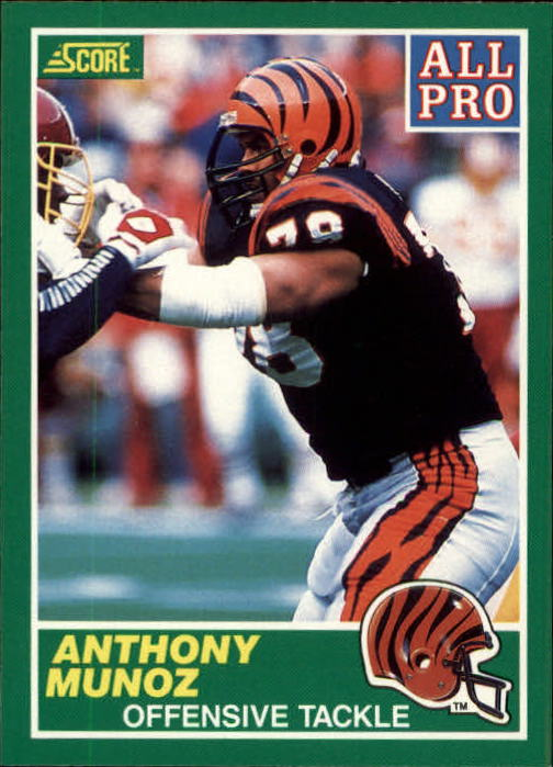 1989 Score #309 Anthony Munoz AP