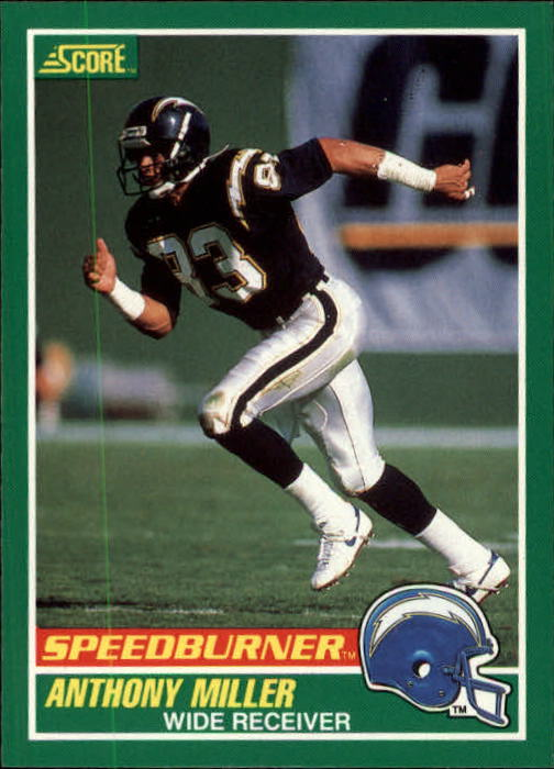 1989 Score #311 Anthony Miller SPEED