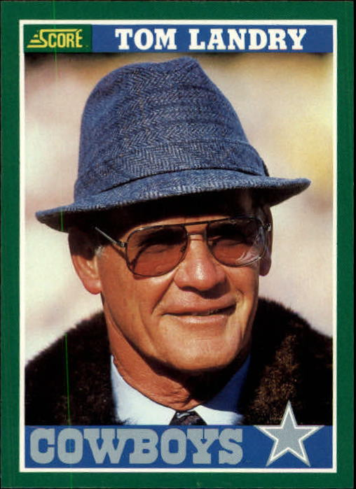 1989 Score #330 Tom Landry Tribute