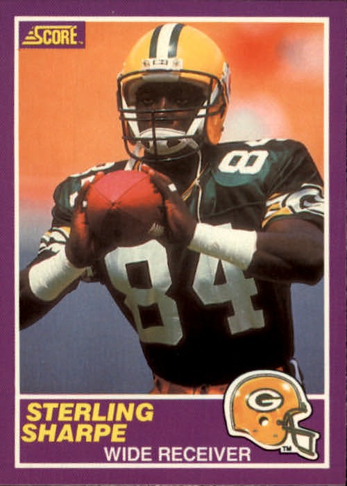 1989 Score Supplemental #333S Sterling Sharpe RC