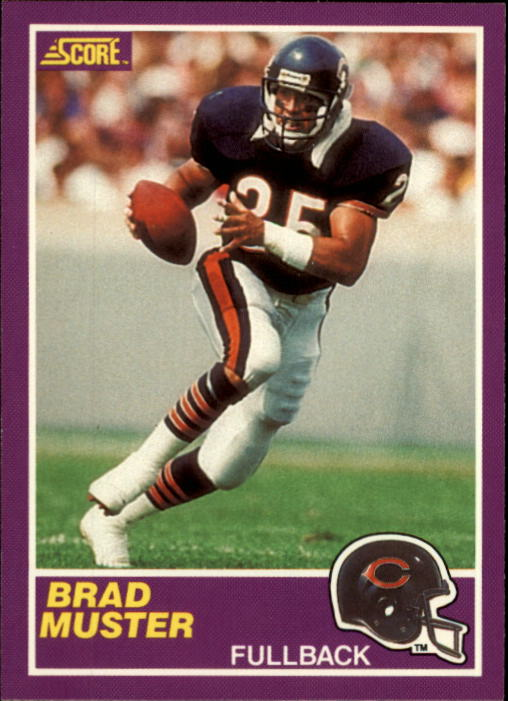 1989 Score Supplemental #360S Brad Muster RC