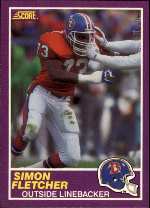 1989 Score Supplemental #363S Simon Fletcher RC