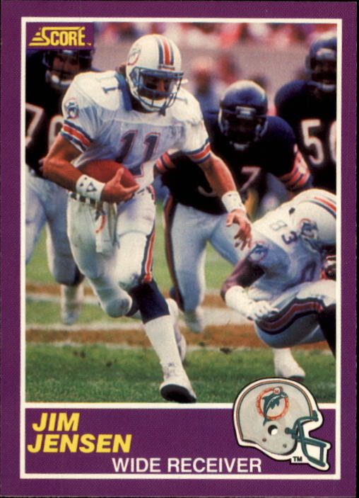 1989 Score Supplemental #365S Jim C.Jensen RC