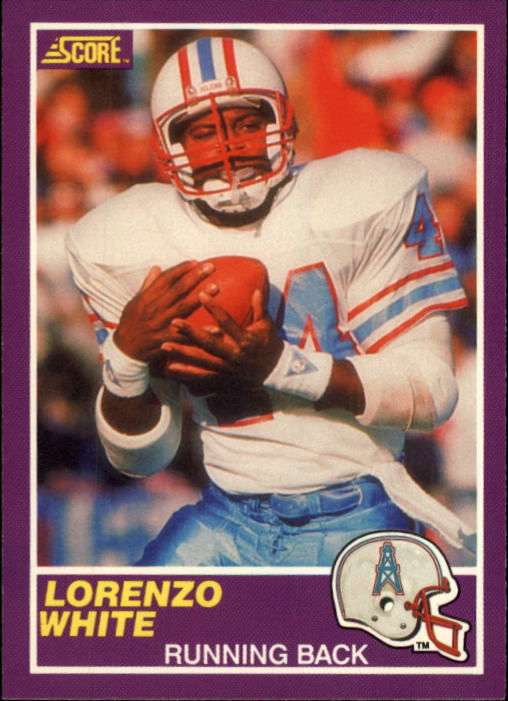 1989 Score Supplemental #366S Lorenzo White RC