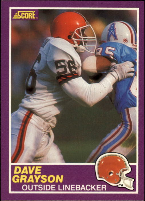 1989 Score Supplemental #387S David Grayson RC