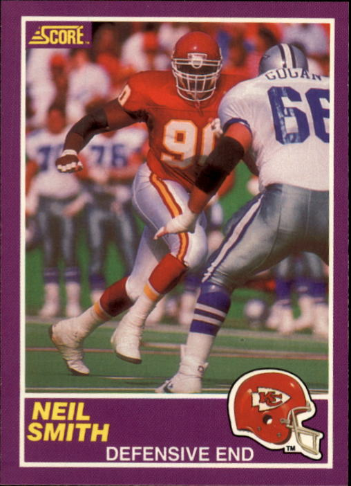 1989 Score Supplemental #407S Neil Smith RC