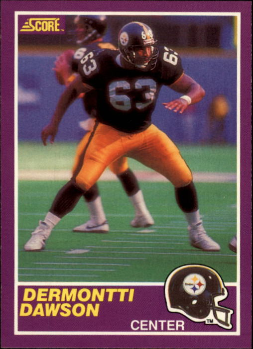 1989 Score Supplemental #408S Dermontti Dawson RC