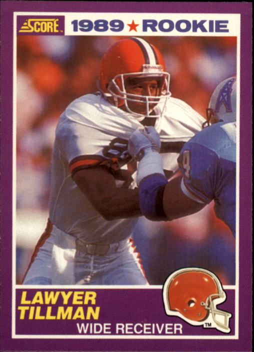 1989 Score Supplemental #435S Lawyer TIllman RC